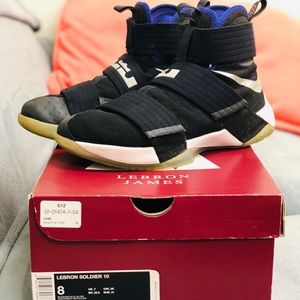 Lebron Soldier X size 8